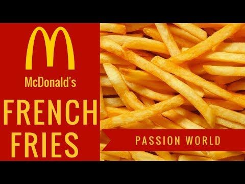 McDonalds French Fries | How to make French Fries | Mcdonald's French Fries Recipe | Passion World - YouTube