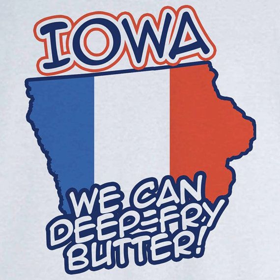 State Pride Iowa Funny Novelty T Shirt Z11746 by RogueAttire, $18.99