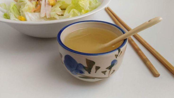 Salsa china para ensaladas