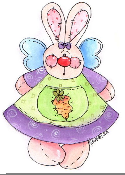 Spring Easter Country Clip Art