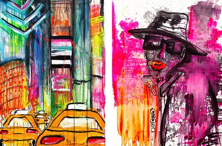 Add some colour to your home with Ebba Bringman's prints!