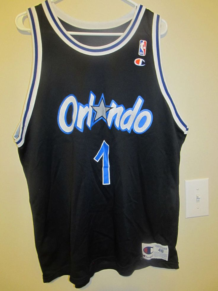 Vintage Anfernee Penny Hardaway - Orlando Magic Jersey - Champion Adult 48 #Champion #OrlandoMagic