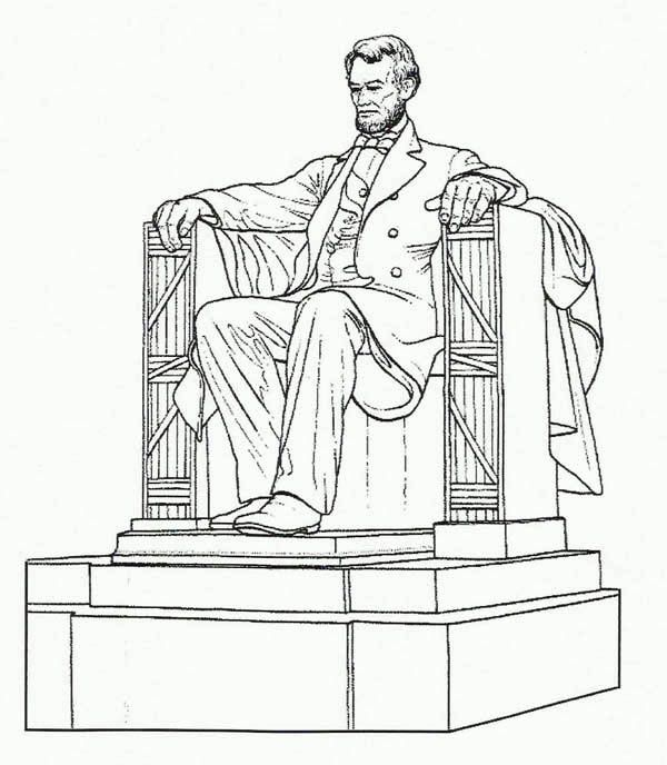 abraham lincoln hat coloring pages - photo#26