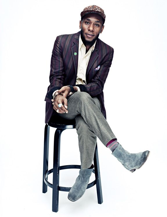 Mos Def GQ Magazine, these boots are great!