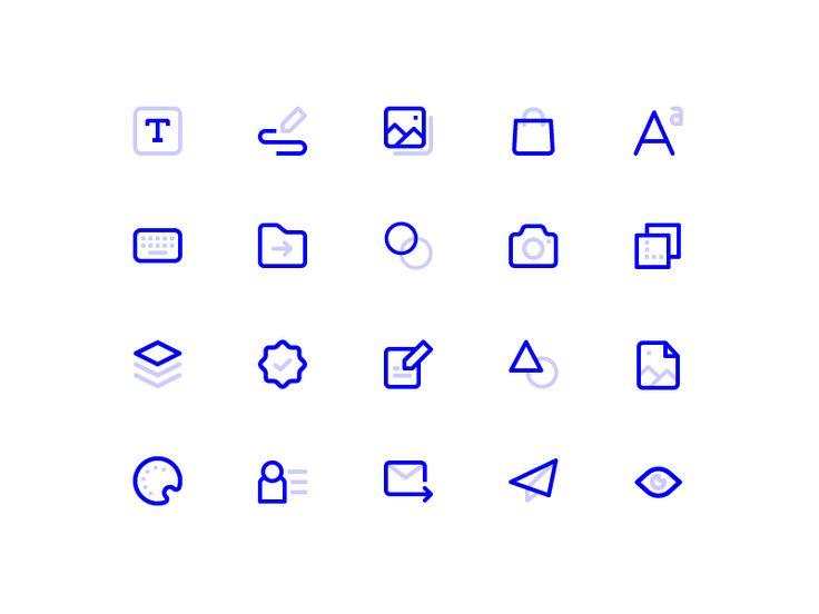 Icons Set by Dmitri Litvinov