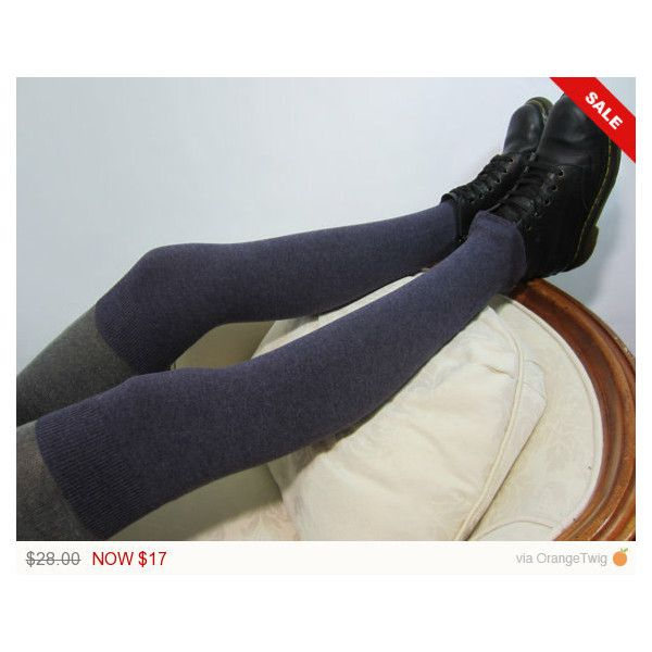 Purple Thigh High Leg Warmers Women's Knit Over the Knee Socks Plum... ($17) ❤ liked on Polyvore featuring intimates, hosiery, leg warmers, purple, women's clothing, knit leg warmers, thigh high leg warmers, over the knee hosiery, over the knee leg warmers and purple leg warmers