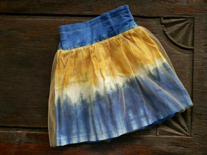 tie dye collection for your little girl - blue