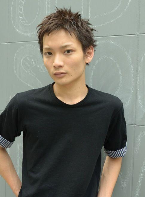 スパイキークールショート 【DECO】 http://beautynavi.woman.excite.co.jp/salon/25557?pint ≪ #menshair #menshairstyle・メンズ・ヘアスタイル・髪形・髪型≫