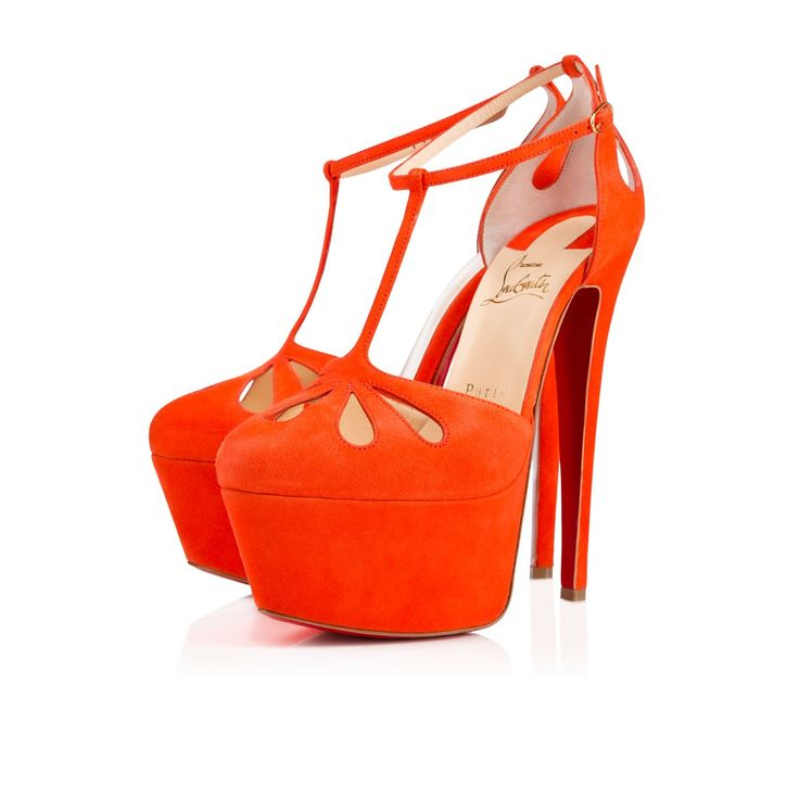 a3f2d19c477 Amyada 160mm Orange Suede   Christian Louboutin