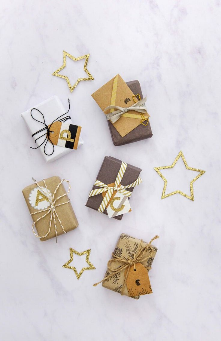 Christmas wrapping ideas.