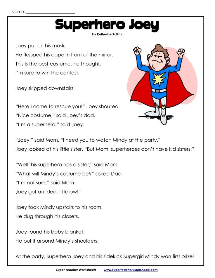2nd Grade Reading Comprehension Worksheets Pdf Teacher