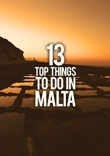 Globetrotter : 13 Top things to do in Malta. Great recommendations from a local…