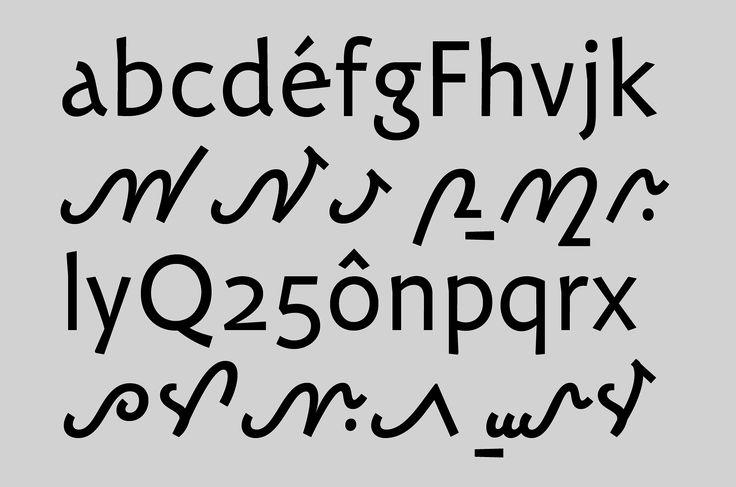 Carolinéale Typeface #Typography #Editorial #Design by Nouvelle Étiquette (France)