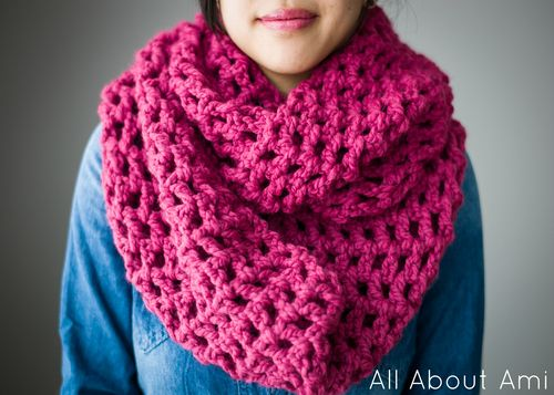 Long Double Crochet Cowl - Tutorial ❥