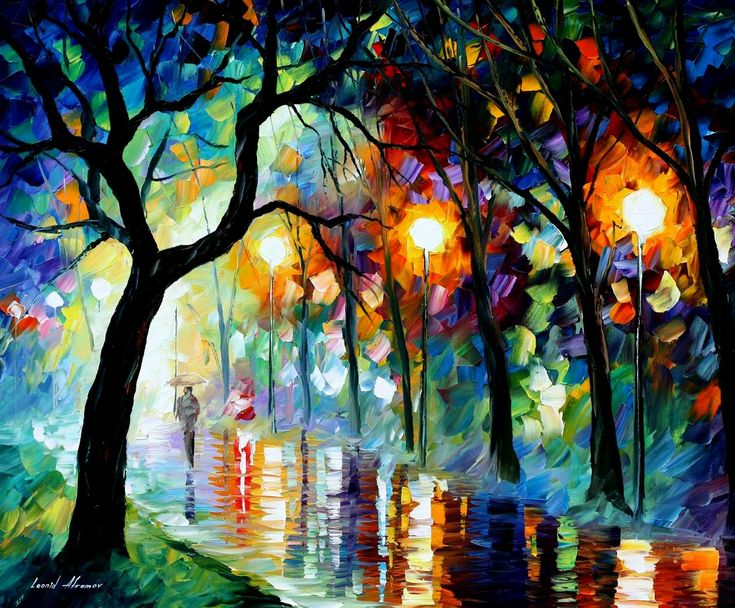 famous artists paintings | Healing paintings by famous artist Leonid Afremov | afremov blog