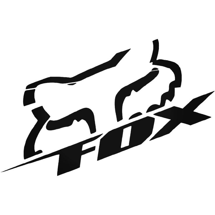 Fox Racing V Logo Vinyl Decal Sticker  BallzBeatz . com