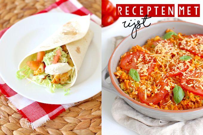 Met rijst kun je zoveel kanten op, lekker met vis, vlees of veel groenten. Iedere week staat hier wel een gerecht met rijst op tafel.