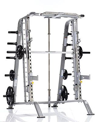 10 Tuff Stuff Fitness Evolution Smith Machine And Half Cage Combo Strength Training