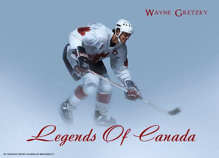 Wayne Gretzky | Уэйн Гретцки #хоккей #легенда #форвард #канада #icehockey #canadateam #stanleycupwinners #canada #canadacup