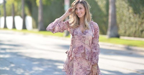 Fashion and lifestyle blogger Emily Schuman's style can best be described as girly-chic. But you won't find any oversize hair bows or matching sweater sets in her closet. How do we know? Because our favorite wardrobe organizing experts at Finery gave us an exclusive look at Schuman's go-to style staples . Here are some of her best looks with tips on how to conquer a femme aesthetic, the 2017 way. RELATED: When You Find an Outfit Formula You Love, Stick to It