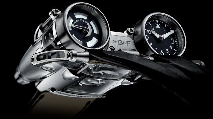Футуристичные наручные часы HM4 Thunderbolt / MB&F