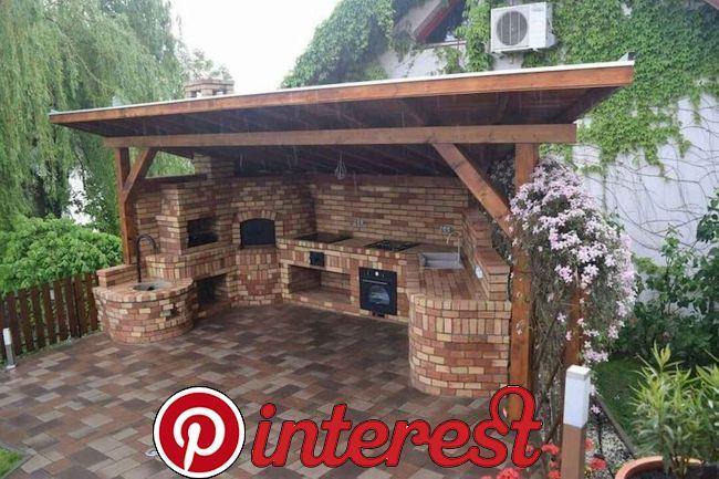 85 Incredible Outdoor Kitchen Design Ideas For Summer Backyard Patio Designs Backyard Kitchen Outdoor Kitchen Design