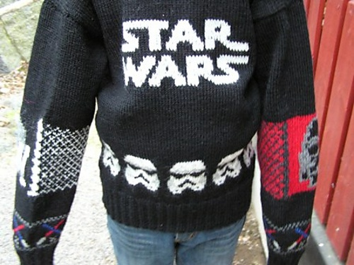 Ravelry: Iryl's Star Wars sweater