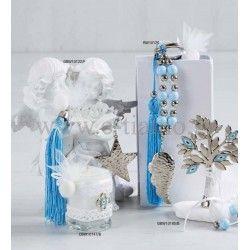 Μπομπονιέρες Πολυτελείας Βάπτισης Luxury Collection Άστερι, Φτερό Δενδρο της ζωής