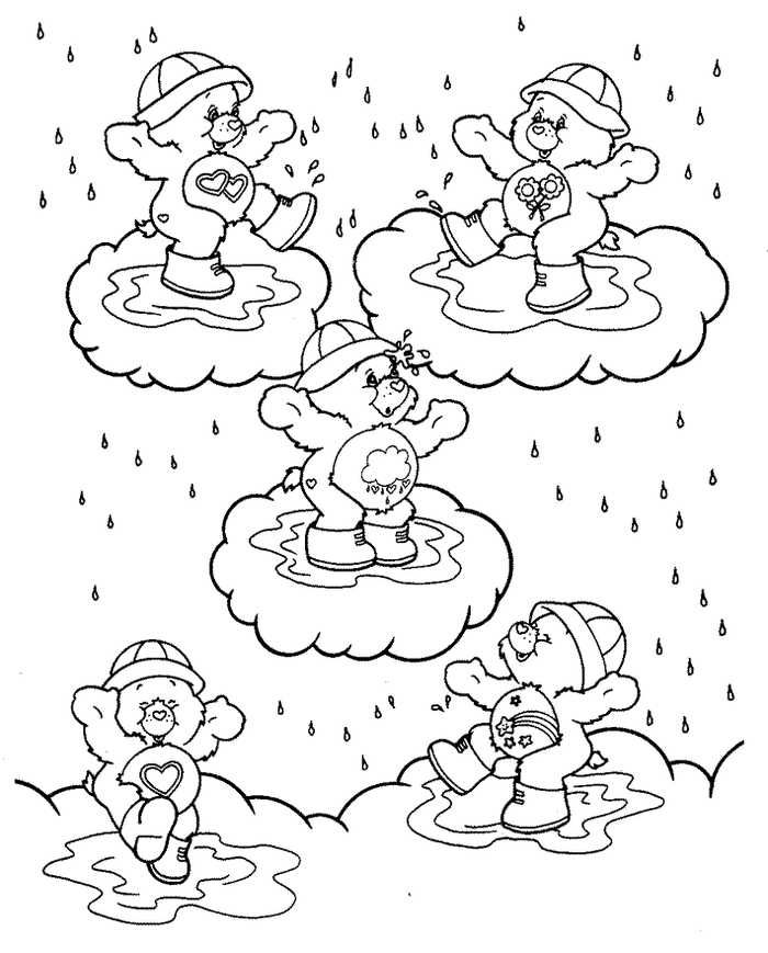Rainy Day Coloring Pages Collection For Kids Free Coloring Sheets Bear Coloring Pages Cool Coloring Pages Cartoon Coloring Pages