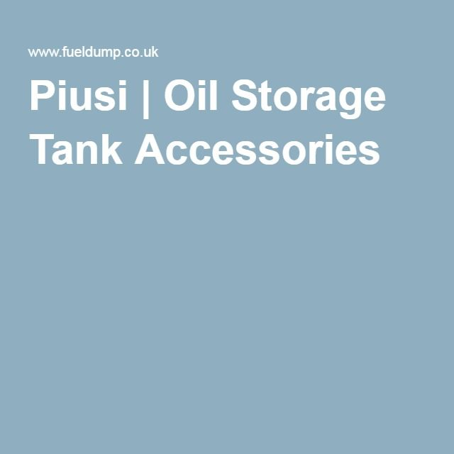 Piusi | Oil Storage Tank Accessories