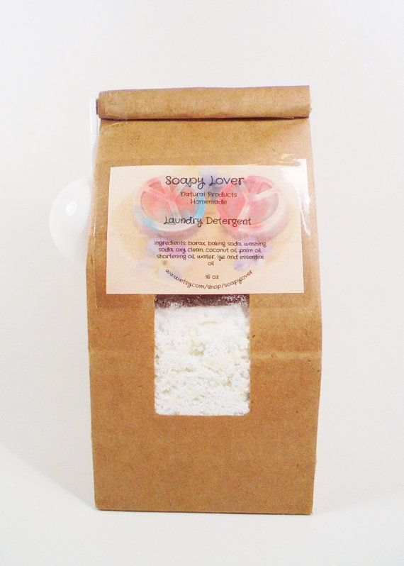 Laundry Detergent  homemade laundry soap handmade by soapylover