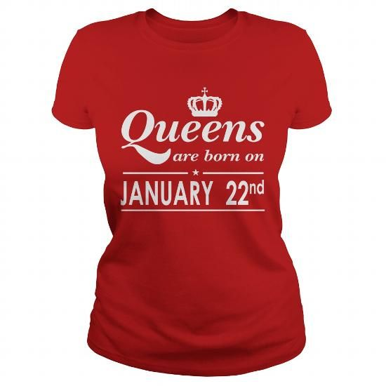 January 22 Shirt QUEENS are Born on January 22 TShirt January 22 Birthday January 22 queen born January 22 gift for birthday January 22 ladies tees Hoodie Vneck TShirt for birthday LIMITED TIME ONLY. ORDER NOW if you like, Item Not Sold Anywhere Else. Amazing for you or gift for your family members and your friends. Thank you! #queens #january