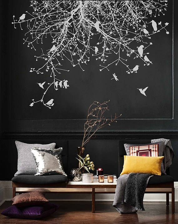 Branch Wall Decals Birds Wall Decals Tree Wall Decals For Bird Wall Decals Tree Wall Decal Wall Decals #tree #wall #decals #for #living #room