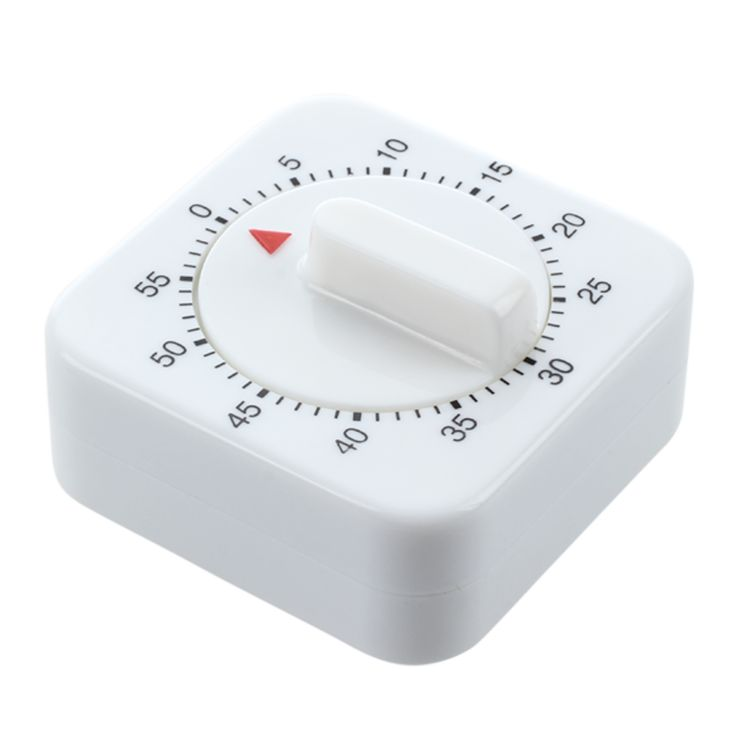 10pcs 1 Hour Kitchen Timer Cooking Ring Mechanical Counter WIND-UP Alarm Clock