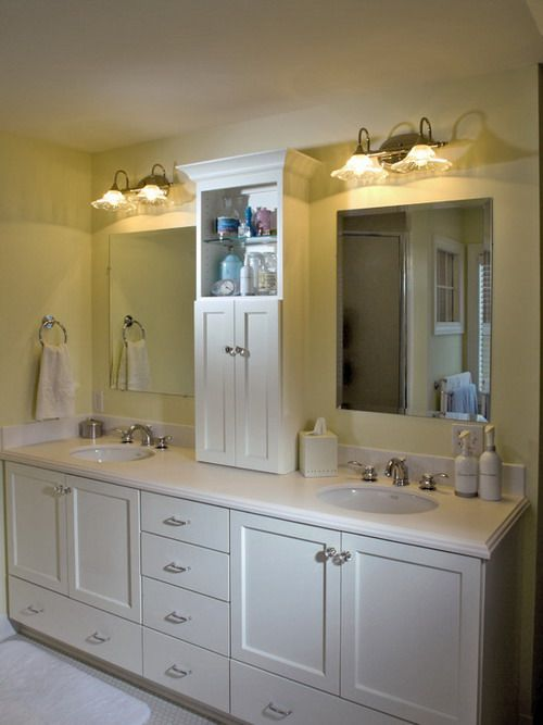 Nice country bathroom vanity ideas bathroom pinterest for Bathroom double vanity design ideas