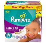 Pampers -  Active Fit Couches Taille 6 x 172 couches - degriffcouches