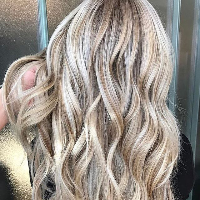 All blonde tones. Color by @stephanie_stylist  #hair #hairenvy #hairstyles #haircolor #blonde #balayage #highlights #newandnow #inspiration #maneinterest