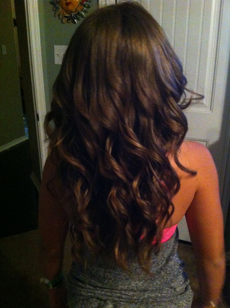 Long Layered Hair V Shape Back View Ombre 21435 Loadtve