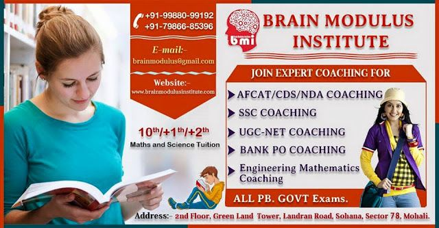 BRAIN MODULUS INSTITUTE: Best BANK PO and SSC Coaching in Mohali