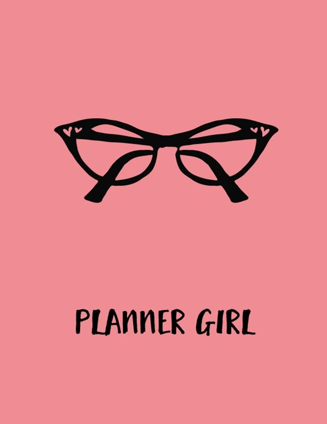Planner Girl Free Printable {plus stickers and more!} EverythingEtsy.com