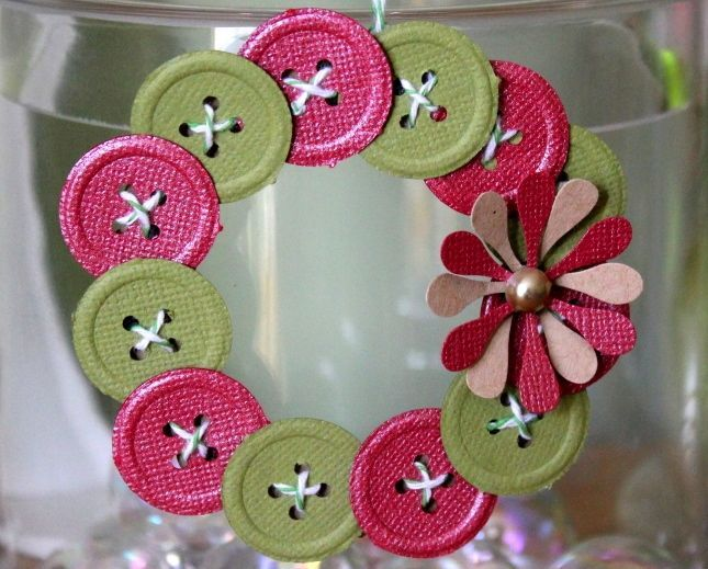 button wreath instructions