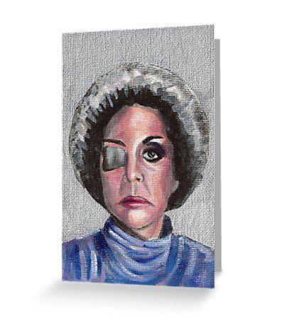 Cuna De Lobos: Catalina Creel Greeting Card ($3)