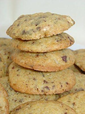 Ma Petite Boulangerie: HEMC - Galletas de nueces y chocolate