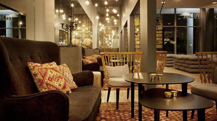 Hotel Scandic Kristiansand Bystranda, Norway.  Interior made by Krook & Tjäder, http://krook.tjader.se/projekt/inredning