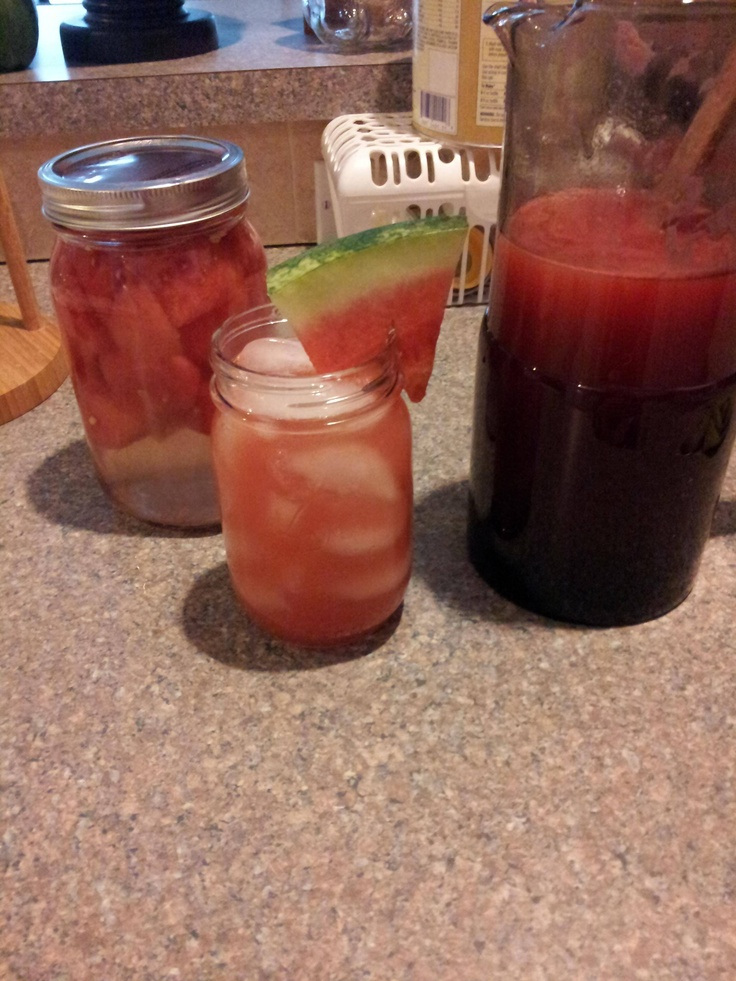 Watermelon cooler, Fresh lime juice and Viola on Pinterest