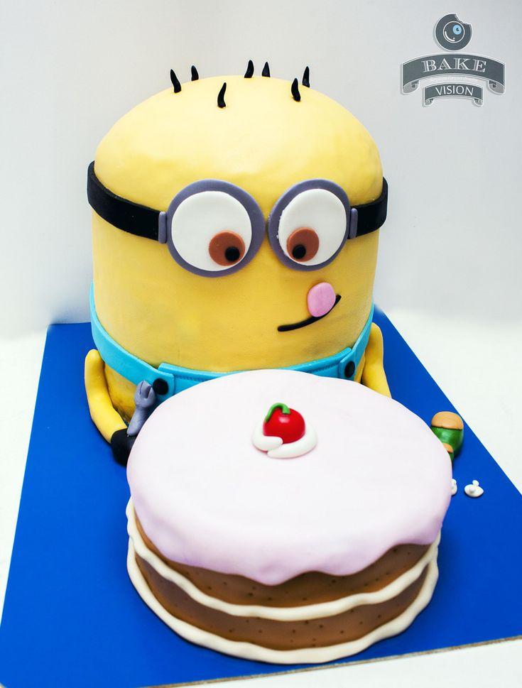Ms de 25 ideas increbles sobre Tortas de minion en Pinterest