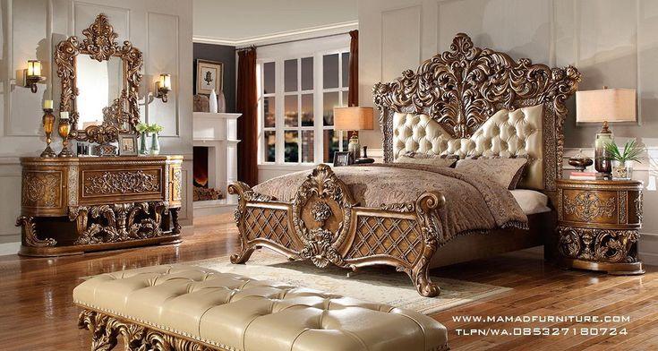 Furniture Jepara Tempat Tidur Ukir Klasik Jati Jepara Mewah Tempat Tidur Ukir Klasik Jati Jepara Mewah -salah satu produk asli mebel jati jepara yang kita buat dengan berkwalitas tinggi dengan standar produk asli jepara