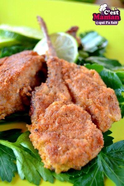 Cotelettes d'agneau marinées au citron vert – recette créoles
