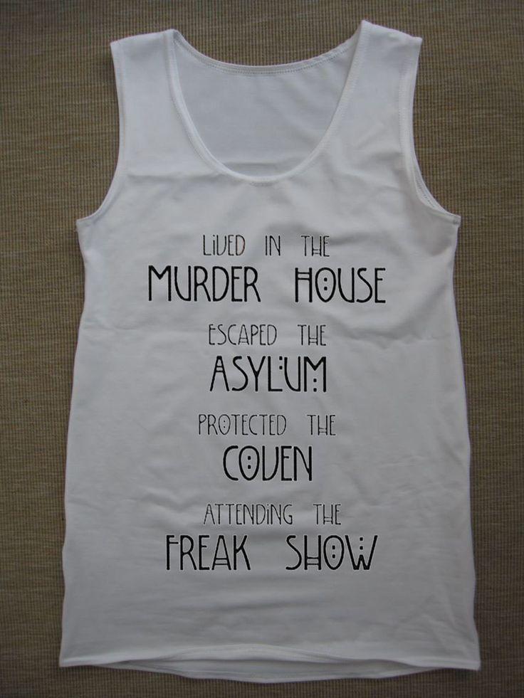 American Horror Story Asylum Tank Top by TankTheTopp on Etsy, $19.00
