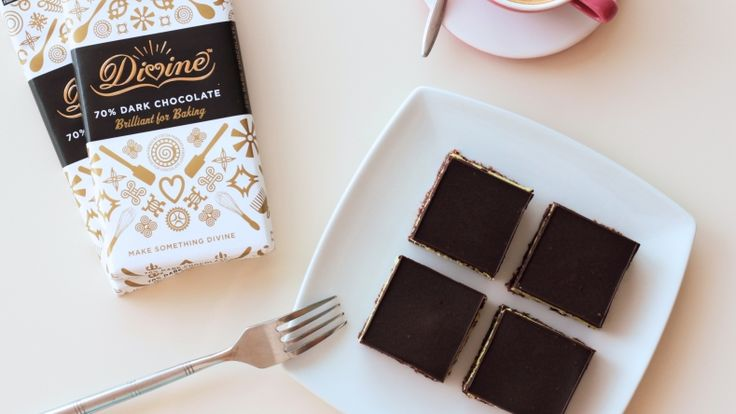 This recipe starts with a delicious chewy base, is filled with a creamy mint centre and topped with the contrasting dark chocolate. Develop your chocolate tempering skills with this perfect 'no-bake' recipe.